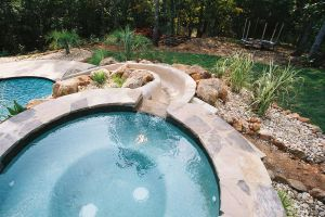 Gunite Pool w/Spa and Waterslide