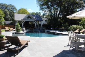Gunite Pool With Tanning Ledge