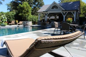 Gunite Pool with Pebble Surface