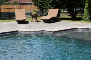 Gunite Pool with Pebble Feature