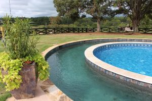 Gunite Pool with Lazy River