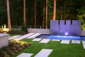 Contemporary Gunite Pool