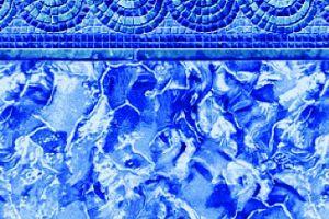 Spiral Mosaic/ Ocean Breakers 27 MIL