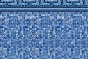 Vintage Mosaic/ Blue Mosaic 27 MIL