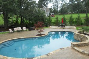 Gunite Pool Outdoor Living Space