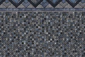 Cobalt Lake / Grey Mosaic