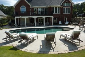 Custom Gunite Pool Design