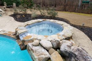 Pool & Spa Maintained by Brown's Pools & Spas
