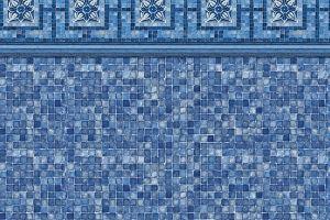 Vintage Mosaic / Blue Mosaic