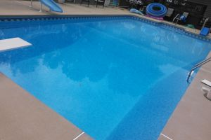 In-Ground Vinyl Pool Maintained By Brown's Pools & Spas