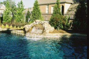 Water Features With Surrounding Rock