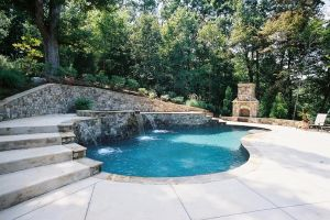 Custom Designed Gunite Pool