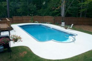 Rectangle Vinyl Pool