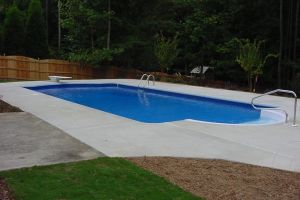 Standard Rectangle Vinyl Pool