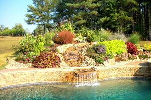 Gunite Pool with Water Features/Landscaping