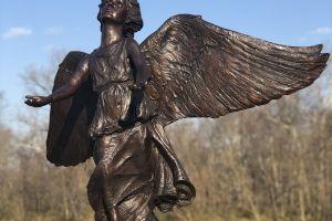 Fishers Parks Foundation Dedicates Angel of Hope