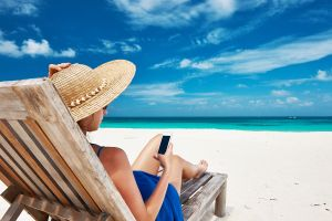 Even on Vacation, Mobile Device Downtime Is More Illusion Than Reality