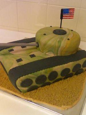 Military Cakes