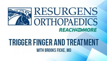 Preview image for Ask the Expert: Dr. Brooks Ficke Discusses Trigger Finger