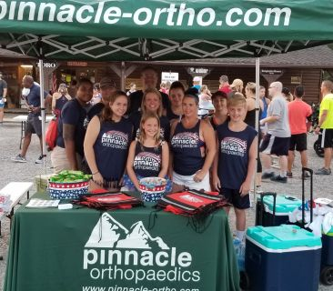 Image for Happy 4th from Team Pinnacle at the Woodstock Freedom Run!