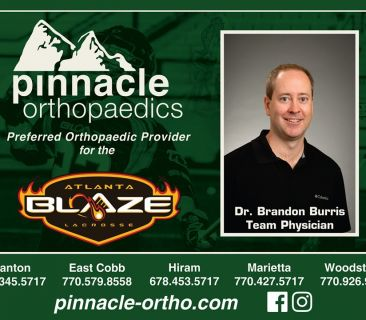 Image for Atlanta Blaze Preferred Orthopaedic Provider