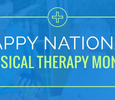 Image for Happy Physical Therapy Month! We love and appreciate our Rehabilitation Department!