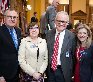 Image for Dr. Scott Swayze was the Medical Association of Georgia's Doctor of the Day at the State Capitol today!