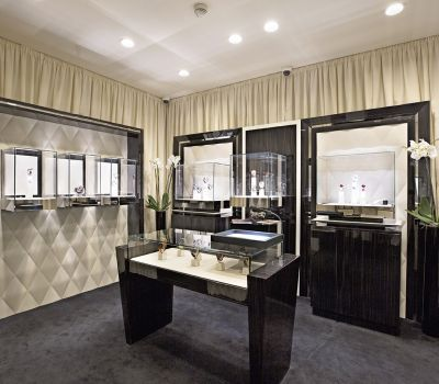 Boutique Jacob & Co. <br>Four Seasons Hotel Des Bergues Geneva