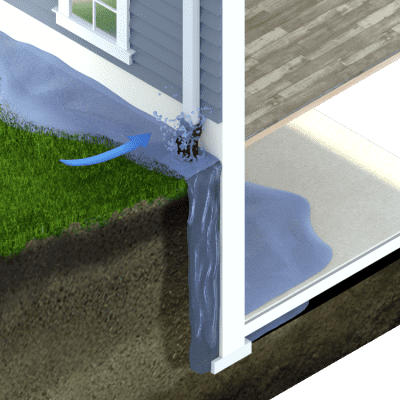 Water Leaking Into Your Basement Before