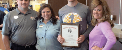 Baker Wins $2,000 in Chick-fil-A Scholarships