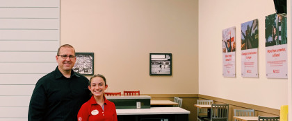 Empowering young people to own their economic success: Chick-fil-A's partnership with Junior Achievement
