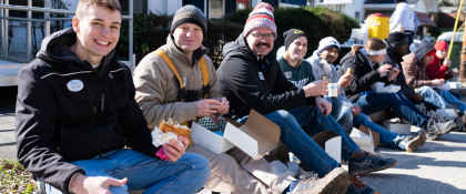 MLK Day service: building a home for Santecia