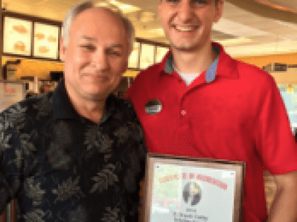 Chick-fil-A Team Member Receives Chain's Top Scholarship