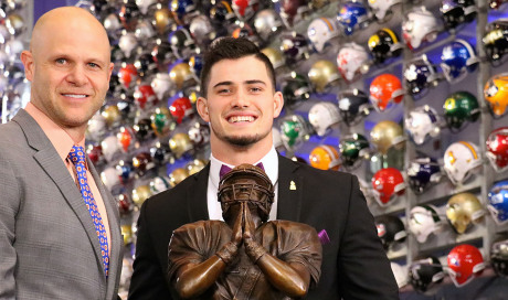 Drue Tranquill of Notre Dame selected as 2018 Wuerffel...