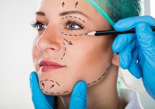 Facelift and Browlift