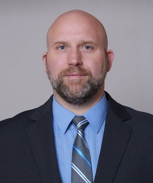 Headshot for Justin Chapin, PA-C