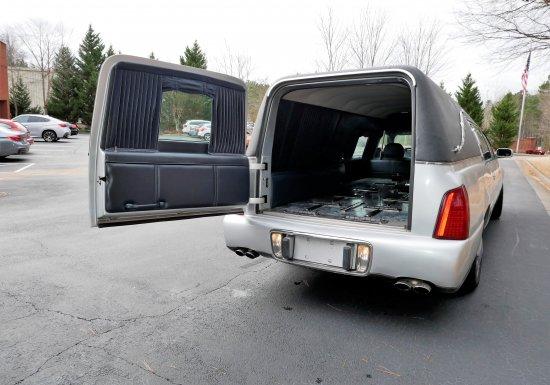 2000 Cadillac Hearse