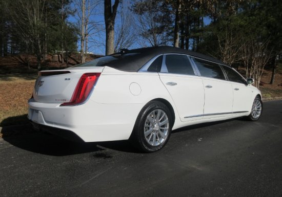 Cadillac Platinum 6 Door White