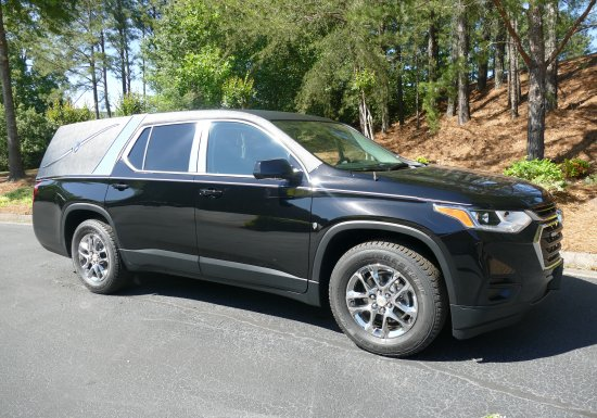 2020 K2 Chevy Traverse Hearse