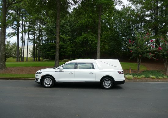 Lincoln Nautilus Hearse  SOLD