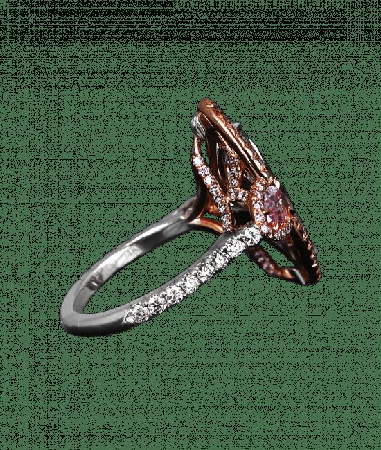 Fancy Intense Blue Diamond Ring