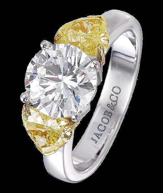 Round Diamond Solitaire
