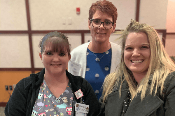 November 2019: Charity B. & Adrienne I., Whitewater Valley Primary Care
