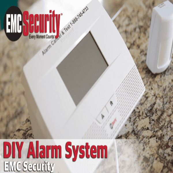Home Security Self Install emc security wireless diy security system | emc security