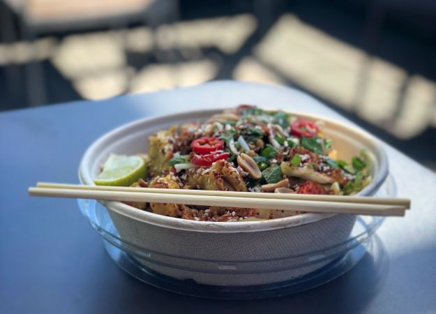 Recipe: Asian Peanut Spaghetti Squash