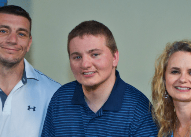 Healing technology: paralyzed football star improving