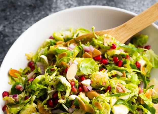 Recipe: Crunchy Sweet Brussels Sprout Salad