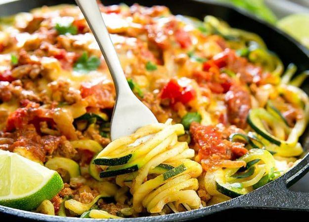 Recipe: Taco Zucchini Noodles