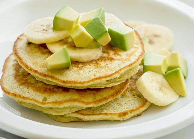 Recipe: Avocado Banana Pancake Stacks