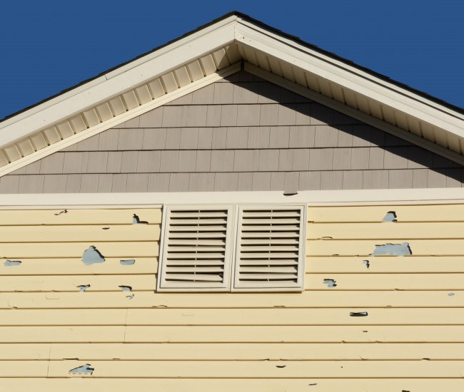 Your painter saying they can't paint without replacing some of your siding? image